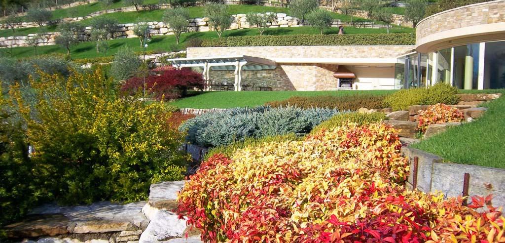 Progettazione giardini architettura del verde bergamo - Architettura esterni giardini ...