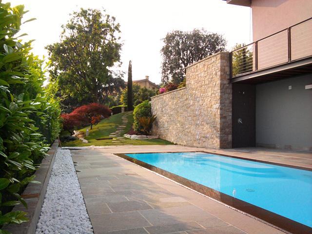 Piscina e giardino progettazione giardini - Giardino con piscina ...