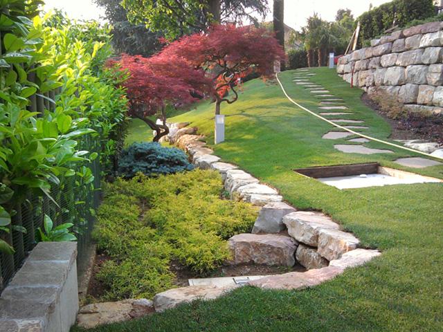 Giardino In Collina Progettazione Giardini