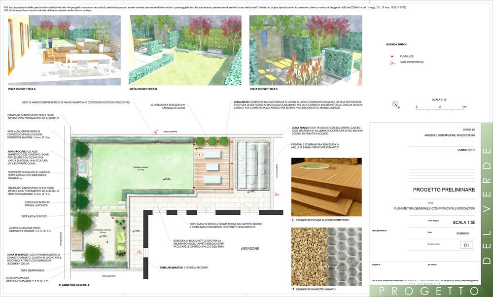 Favoloso progettazione giardini moderni - Progettazione Giardini ZA12