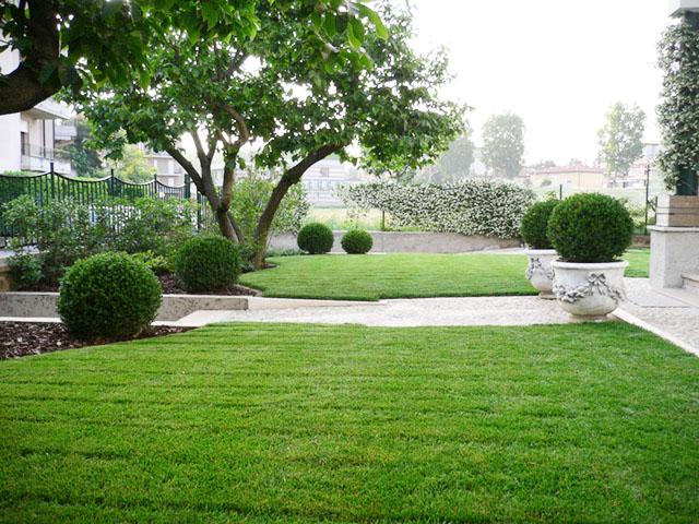 Ripristino giardino storico progettazione giardini for Giardini ville moderne