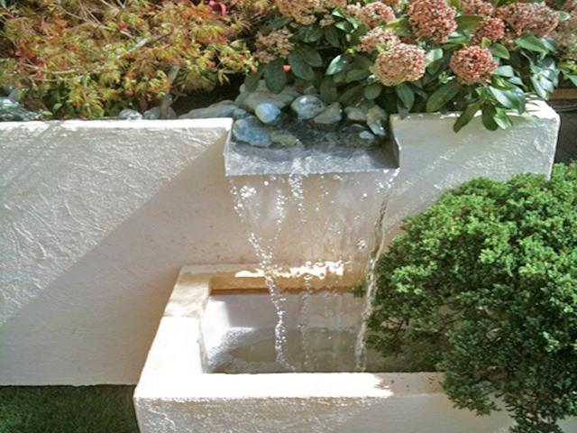 Allestimento verde temporaneo progettazione giardini for Cascata giardino