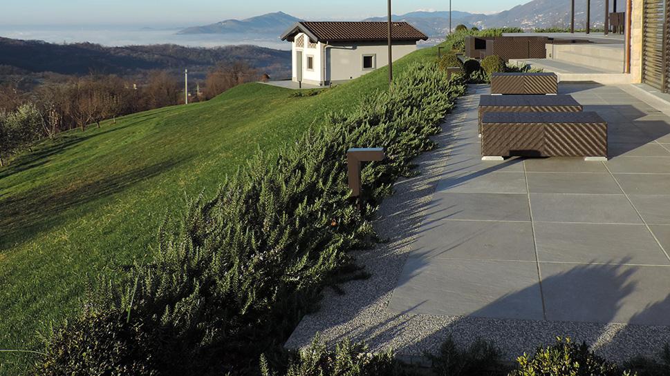 progettazione giardino e spazi esterni agriturismo