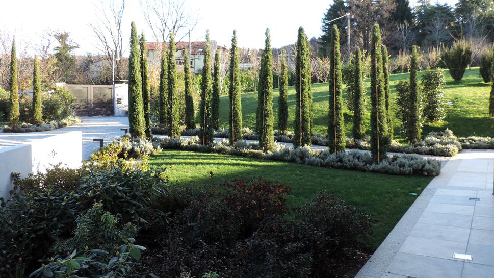 Progettazione giardino e spazi esterni agriturismo - Giardini bergamo ...