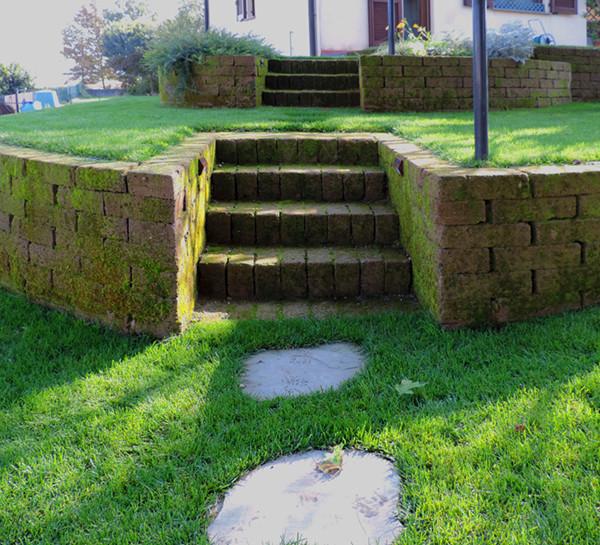 realizzazione giardino Caravaggio