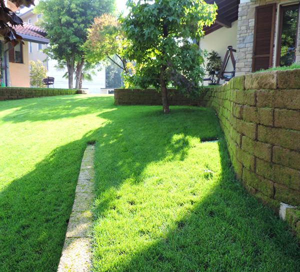 Giardino con terrazzamenti in tufo - Progettazione Giardini