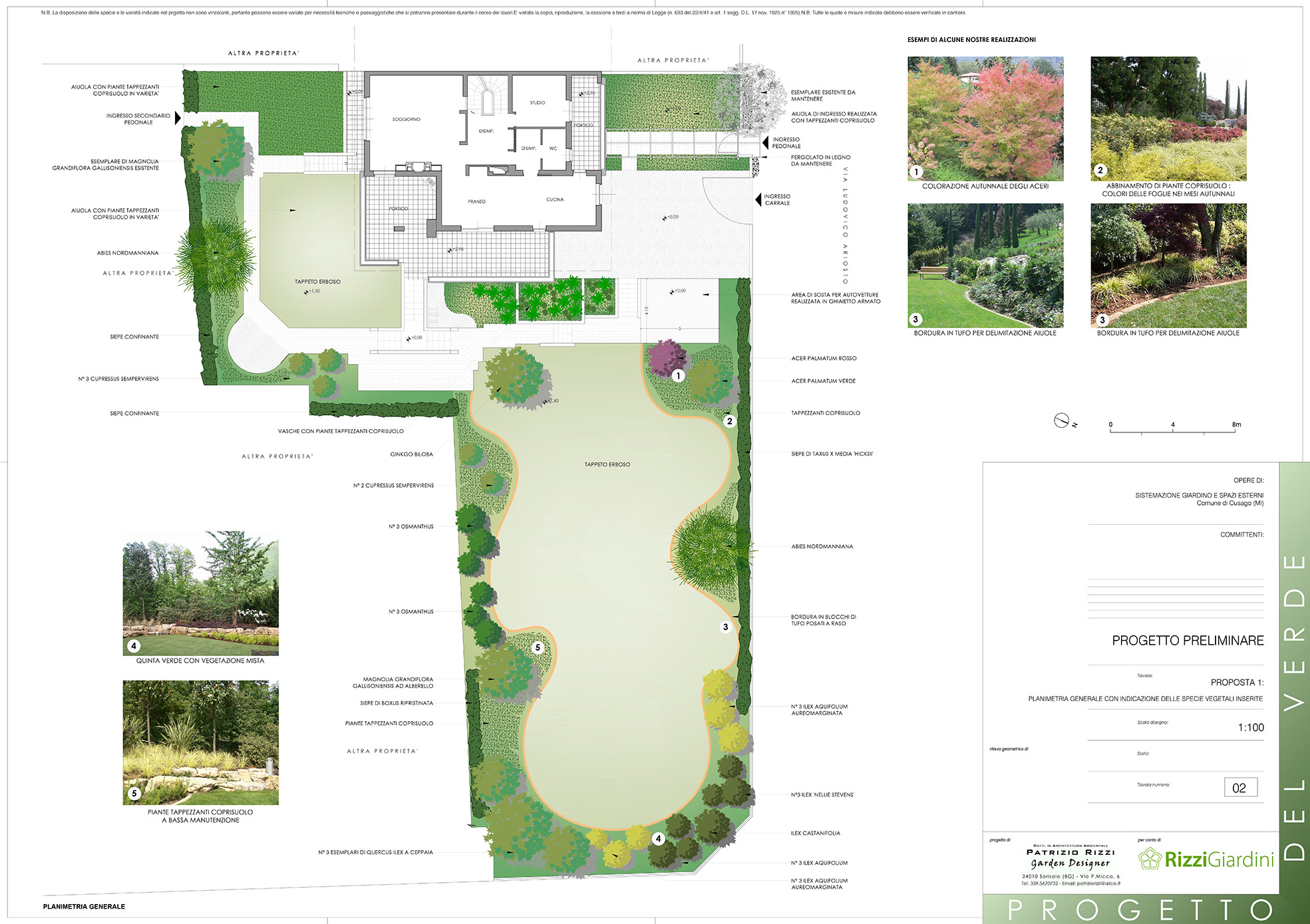 Green turf in Milan - Progettazione Giardini
