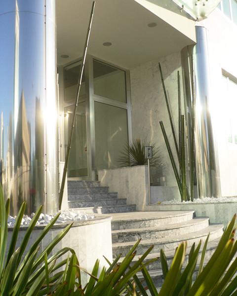 Verde per uffici progettazione giardini - Sassi x giardino ...