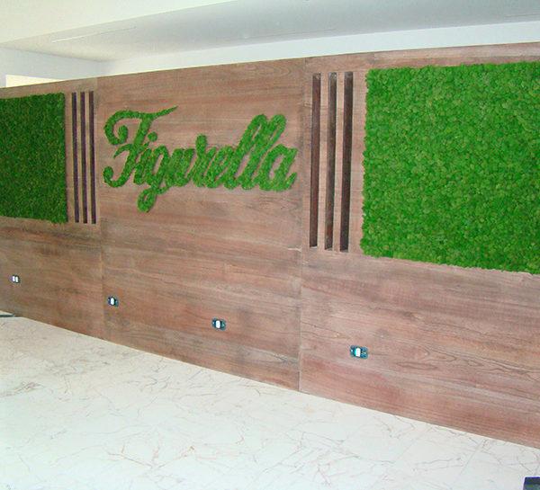 verde interno per negozi