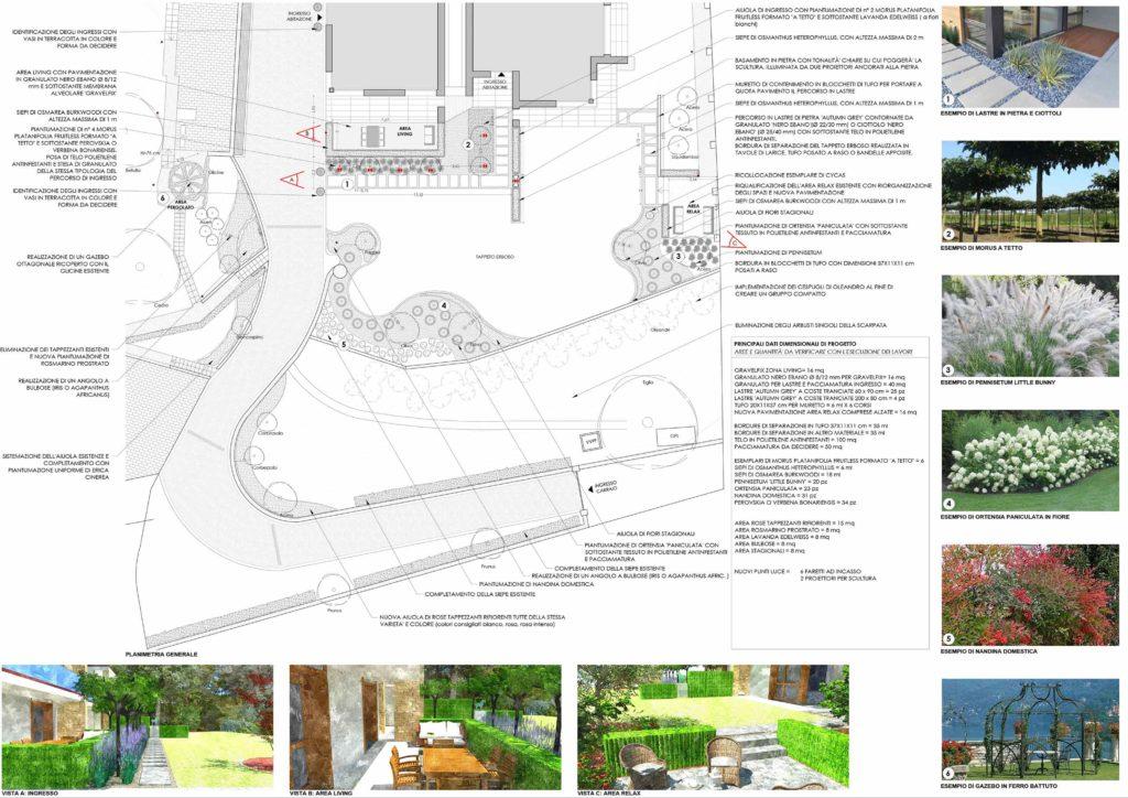 progettazione giardini; Architetto paesaggio Bergamo