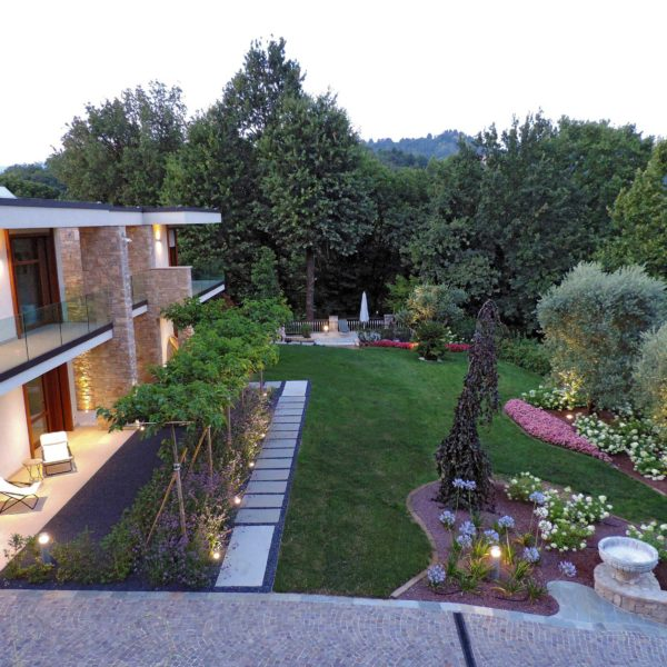 giardino villa bosco